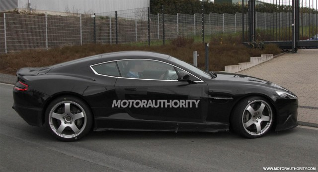 2013 Aston Martin DB9 spy shots