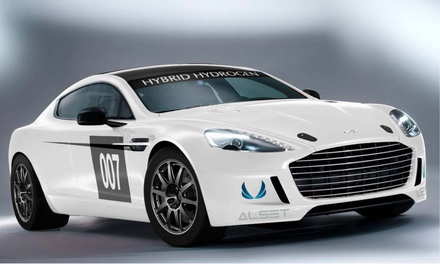2013 Aston Martin Hybrid Hydrogen Rapide S race car