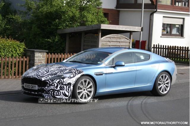 2013 Aston Martin Rapide spy shots