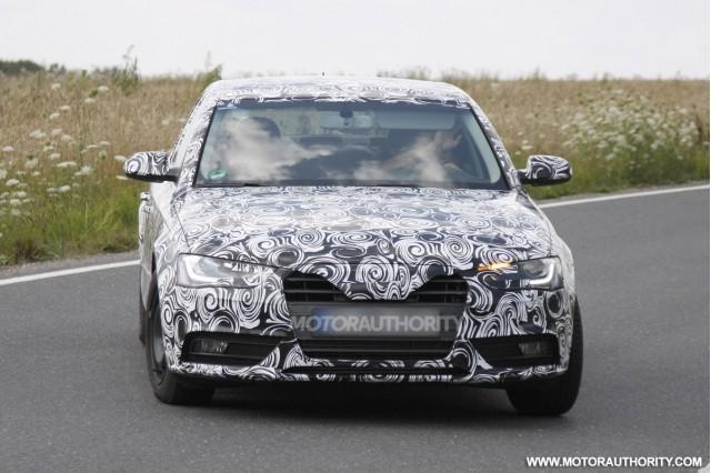 2013 Audi A4 sedan spy shots