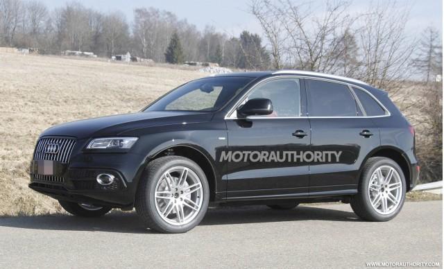 2013 Audi Q5 facelift spy shots