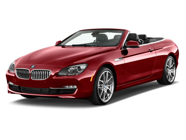 2013 BMW 6-Series 2-door Convertible 640i Angular Front Exterior View