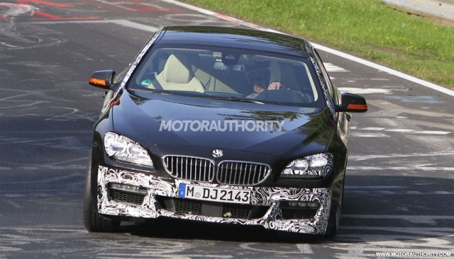 2013 BMW 6-Series Gran Coupe with M Sports Package spy shots