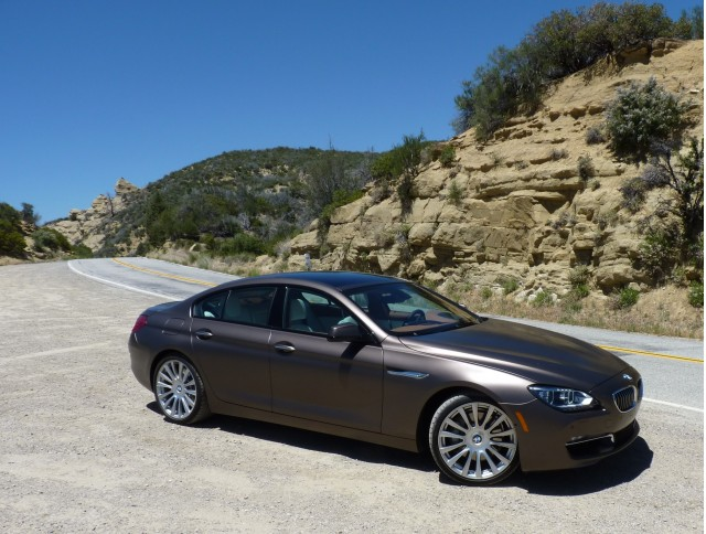 2013 BMW 640i Gran Coupe  -  First Drive, May 2012