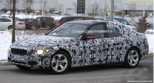 2013 BMW ActiveHybrid 3-Series spy shots