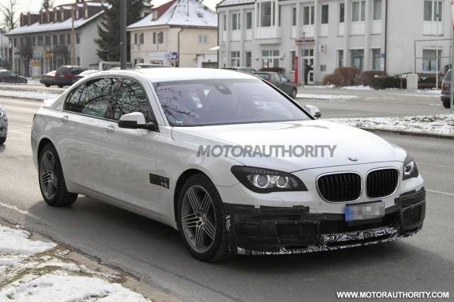 2013 BMW Alpina B7 spy shots