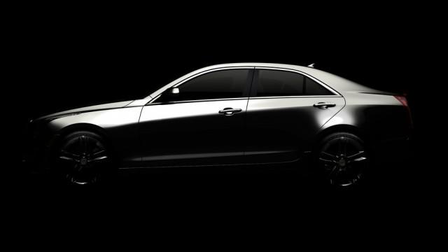 2013 Cadillac ATS teaser