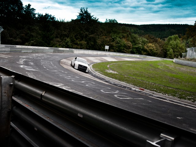 2013 Cadillac ATS testing at the Nurburgring