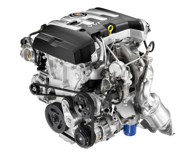 2013 Cadillac ATS new-generation 2.0T Ecotec engine