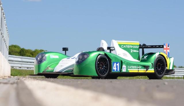 2013 Caterham LMP2 Le Mans prototype