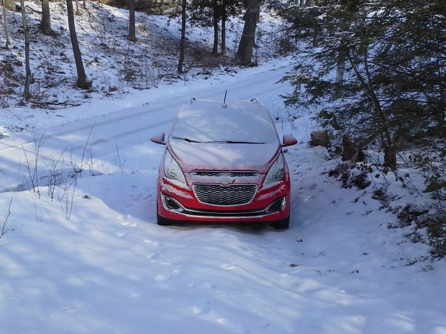 2013 Chevrolet Spark, road test, January 2013