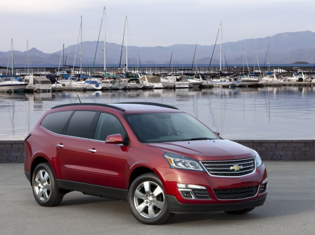 2013 chevrolet traverse  chevy  review  ratings  specs  prices  and photos