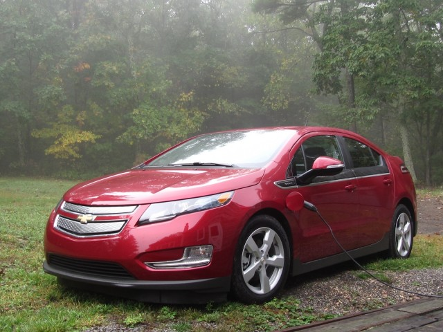 2017 Chevrolet Volt Catskill Mountains Oct