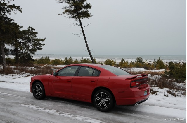 2013 Dodge Charger AWD Sport - winter road trip