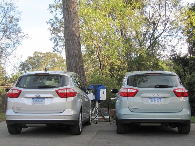 2013 Ford C-Max Energi plug-in hybrid, Marin County, CA, Nov 2012