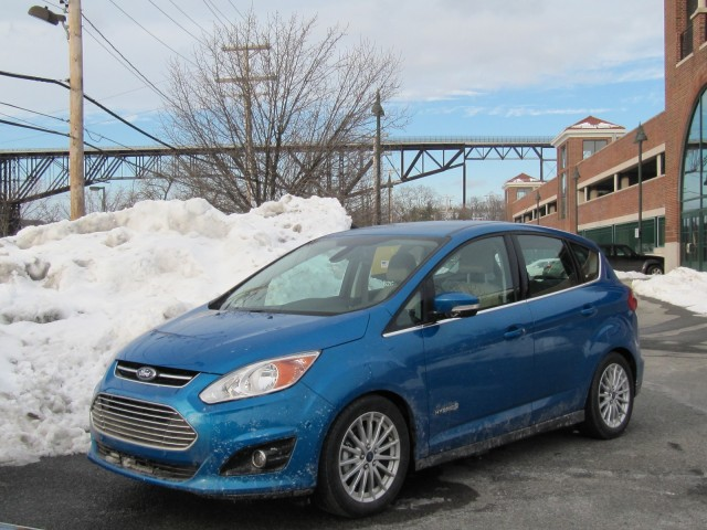 2013 Ford C-Max Hybrid, upstate New York, Dec 2012