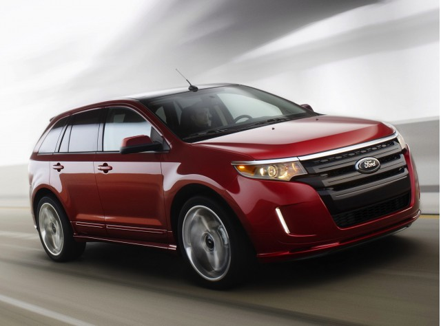 2013 gmc terrain vs chevrolet equinox ford edge honda cr for Ford edge vs honda crv