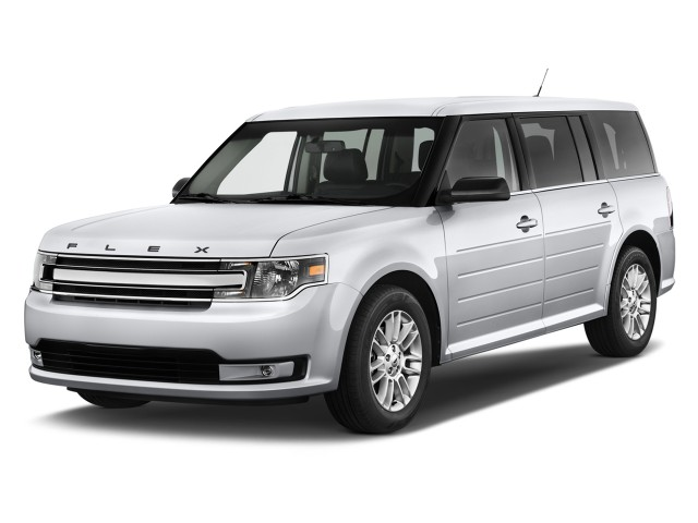 2013 Ford Flex 4-door SEL FWD Angular Front Exterior View