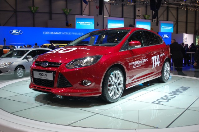 2013 Ford Focus 1.0 EcoBoost live photos