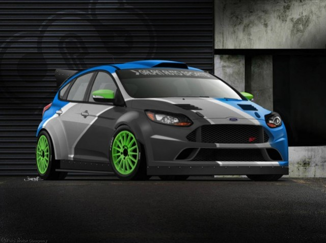 2013 Ford Focus ST built by Galpin Auto Sports for SEMA 2012