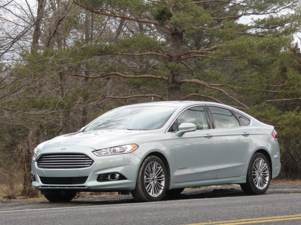 2013 Ford Fusion Hybrid, test drive, Catskill Mountains, NY, Mar 2013
