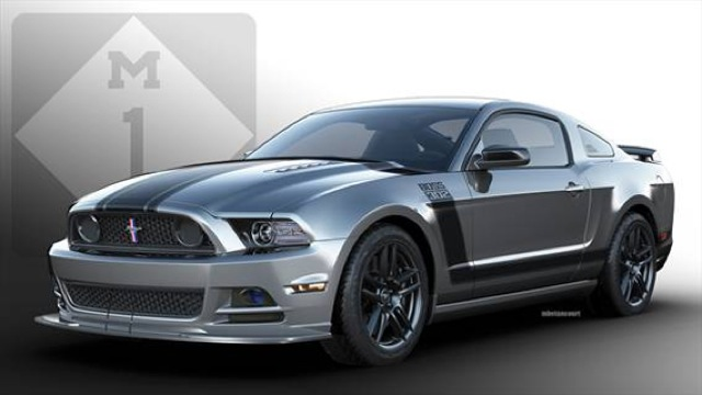 Want To Win A Custom 2013 Mustang Boss 302 Laguna Seca