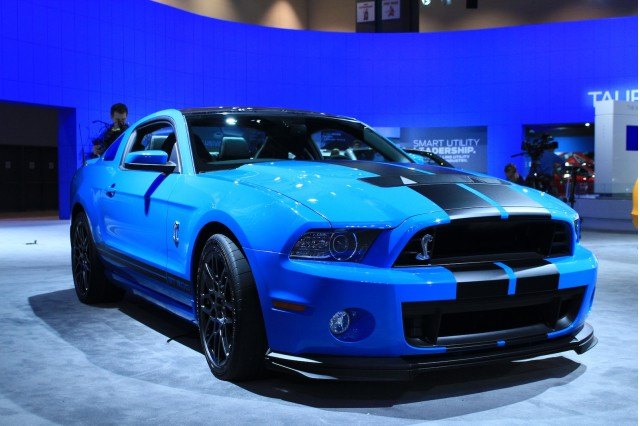 2013 ford mustang shelby gt500 live photos: 2011 l.a. auto show