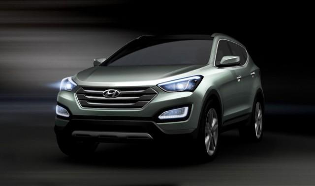 2013 Hyundai Santa Fe (ix45) teaser