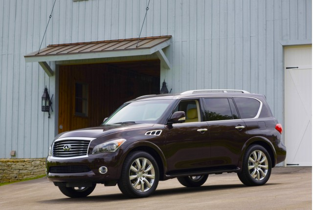 Locate Infiniti Qx56 Listings Near You