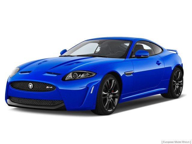 2013 Jaguar XK 2-door Coupe XKR-S Angular Front Exterior View