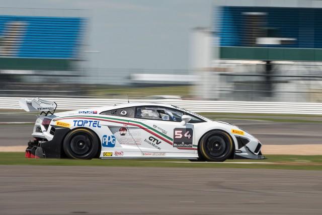 2013 Lamborghini Blancpain Super Trofeo action
