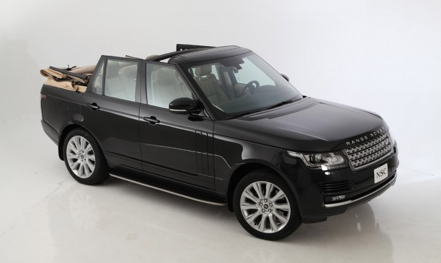 2013 Land Rover Range Rover convertible by Newport Convertible Engineering