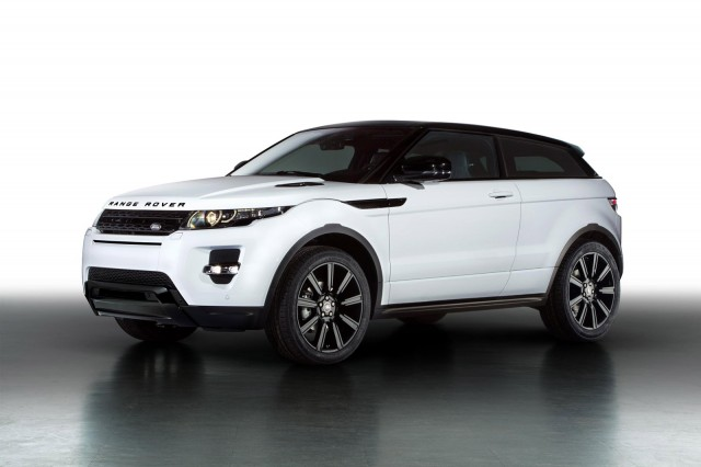 2013 Land Rover Range Rover Evoque with Black Design Pack