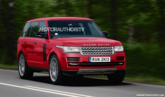 2013 Land Rover Range Rover renderings - Image courtesy Iacoski by SB-Medien