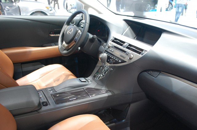 2010 lexus rx 450h mpg
