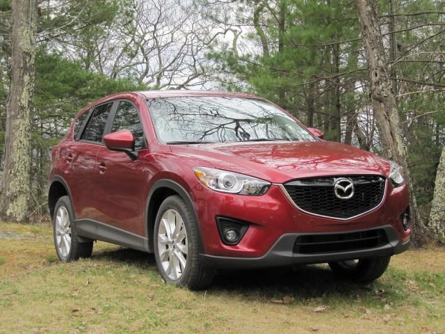 2013 Mazda CX-5 road test, Catskill Mountains, NY, April 2012
