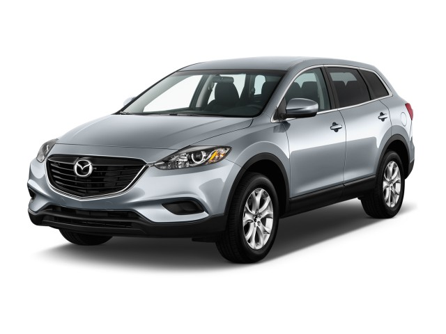 2013 Mazda CX-9 FWD 4-door Sport Angular Front Exterior View