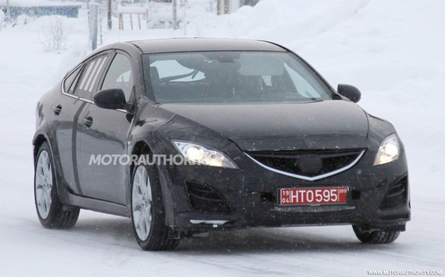 2013 Mazda Mazda6 test-mule spy shots