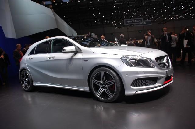 2013 Mercedes-Benz A Class live photos