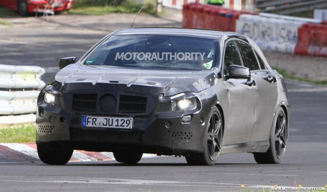 2013 Mercedes-Benz A25 AMG spy shots