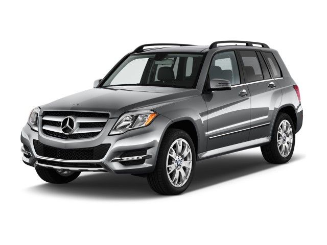 2013 Mercedes-Benz GLK Class RWD 4-door GLK350 Angular Front Exterior View