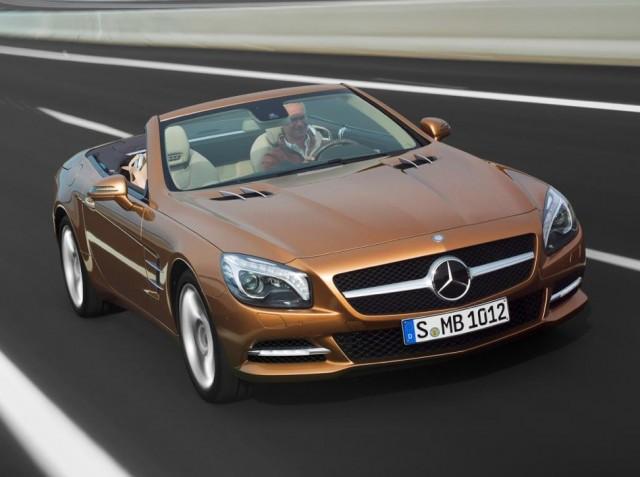 2013 Mercedes-Benz SL-Class leaked photos