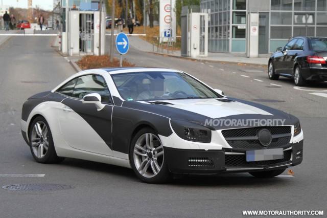 2013 Mercedes-Benz SL-Class spy shots