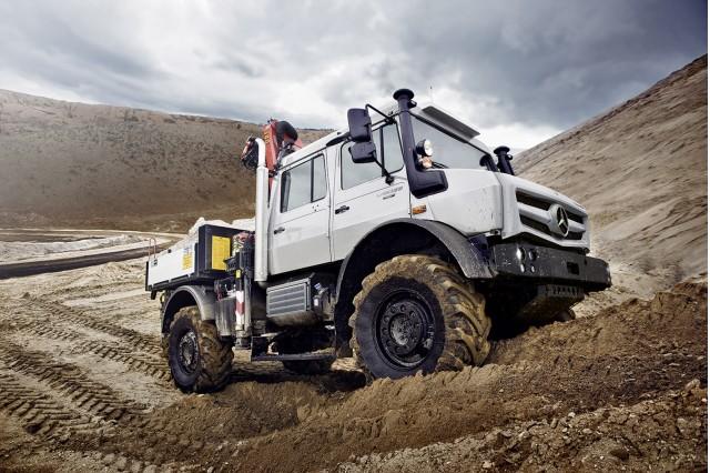2013 Mercedes-Benz Unimog range