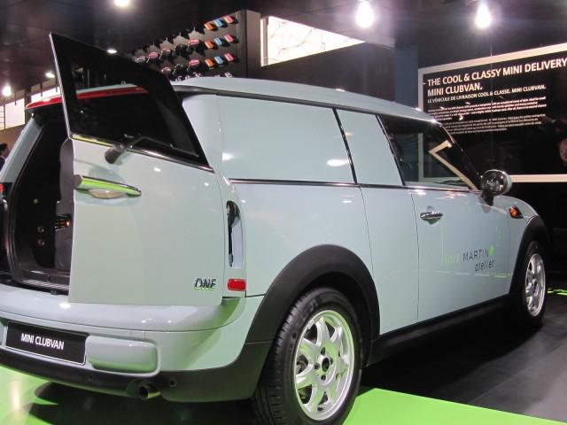 2013 MINI Clubvan (European model) at 2012 Paris Auto Show