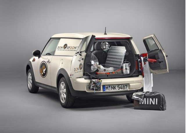 2013 Mini Clubvan Preview Small Package Delivery