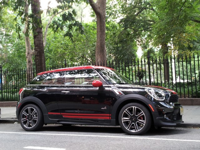 2013 MINI John Cooper Works Paceman ALL4, New York City
