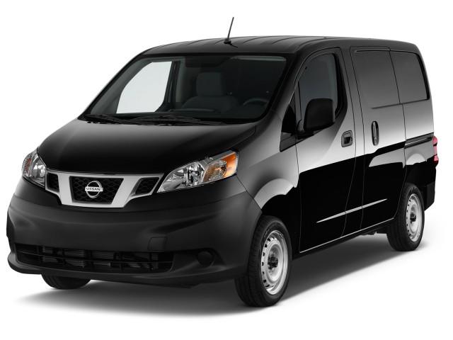 2013 Nissan NV200 I4 S Angular Front Exterior View