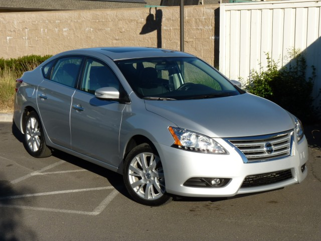 2013 Nissan Sentra SL   First Drive, October 2012