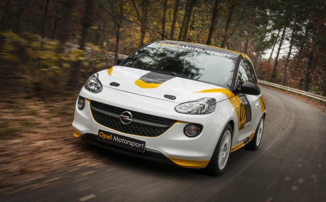 2013 Opel Adam Cup race car